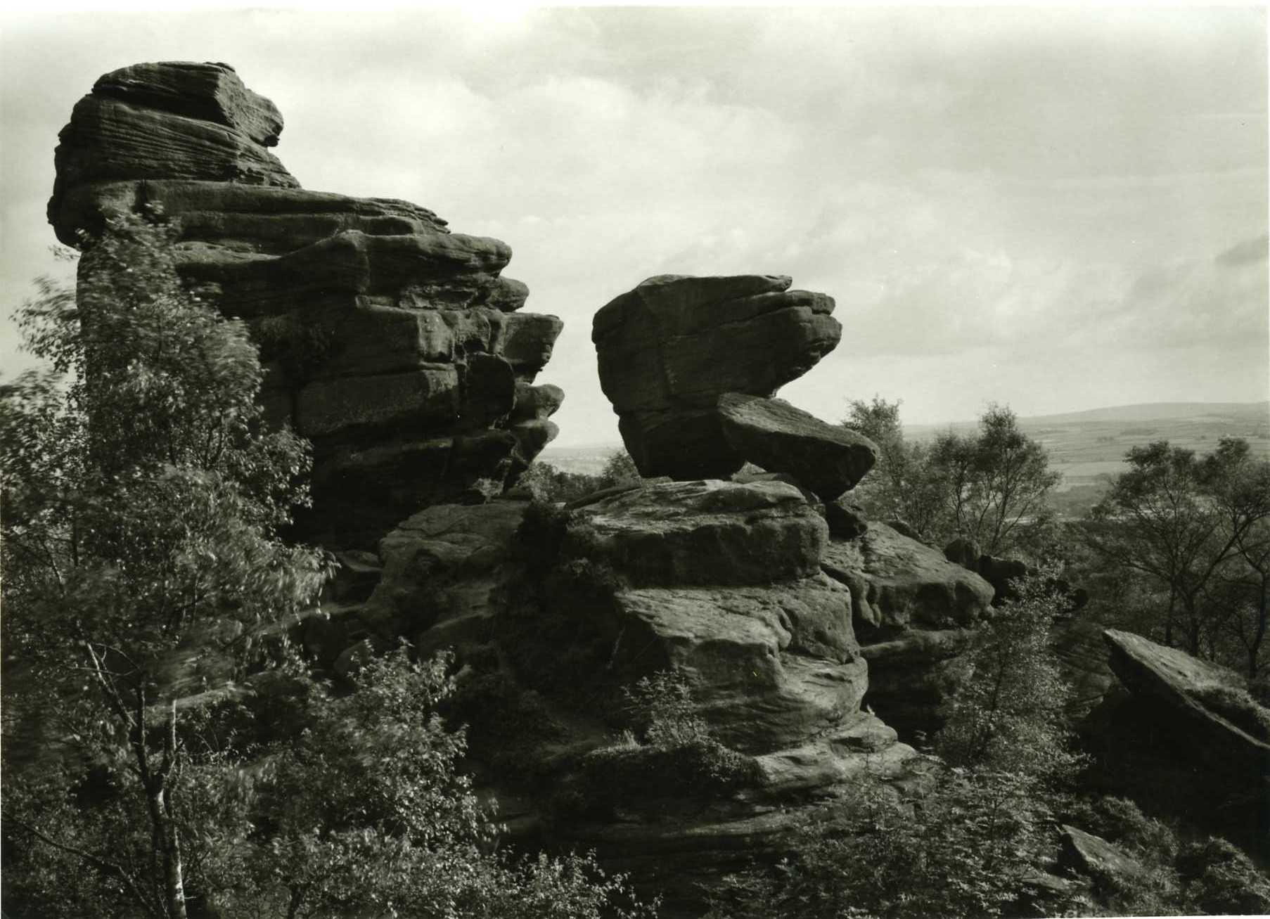 John Curno, Brimham Rocks,c1982
