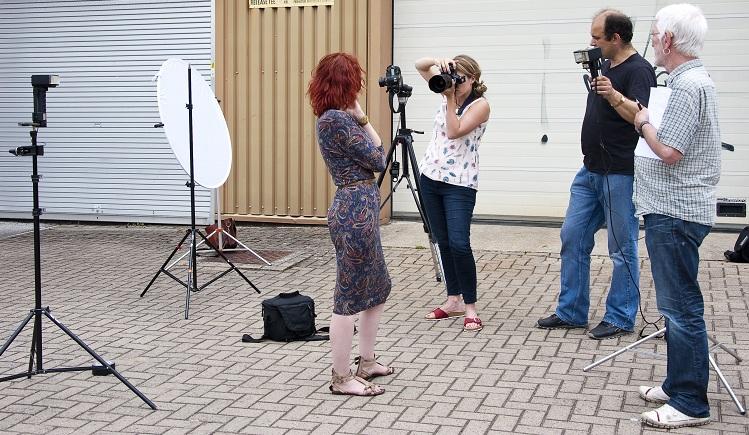 Calumet off-camera flash course in Bristol